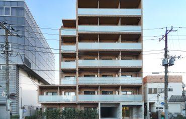 西蒲田八丁目共同住宅新築工事