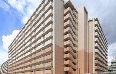 大阪府営瓜破西第4期高層住宅新築工事