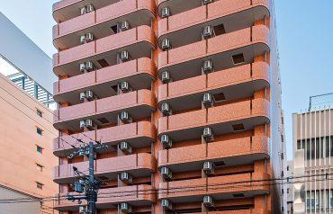大阪市中央区高津三丁目マンション新築工事